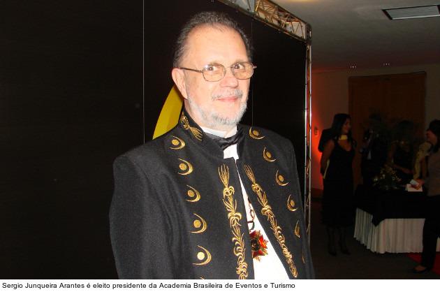 Discurso de posse de Sergio Junqueira Arantes na Academia Brasileira de Eventos e Turismo